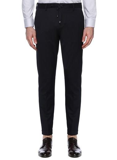 NetWork Erkek 1074095 Drop 6 Çizgi Desenli Pantolon Lacivert